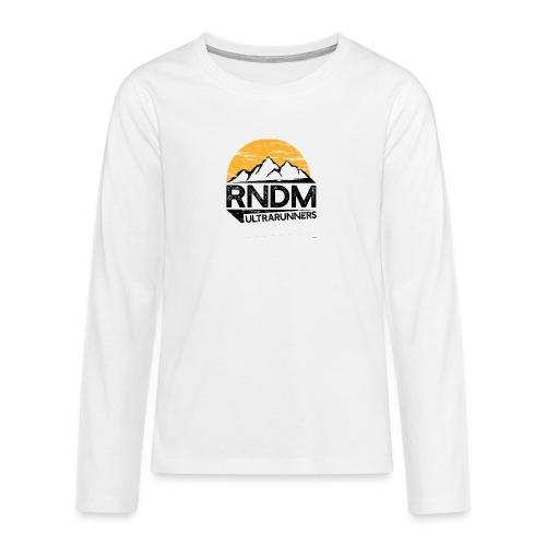 RndmULTRArunners T-shirt - Teenagers' Premium Longsleeve Shirt