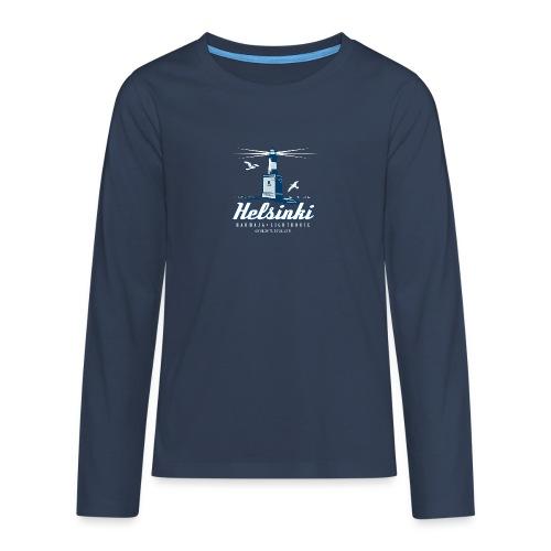 HELSINKI HARMAJAN MAJAKKA - Tekstiilit ja lahjat - Teinien premium pitkähihainen t-paita