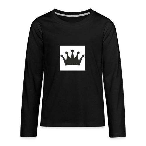 krone - Teenager Premium Langarmshirt