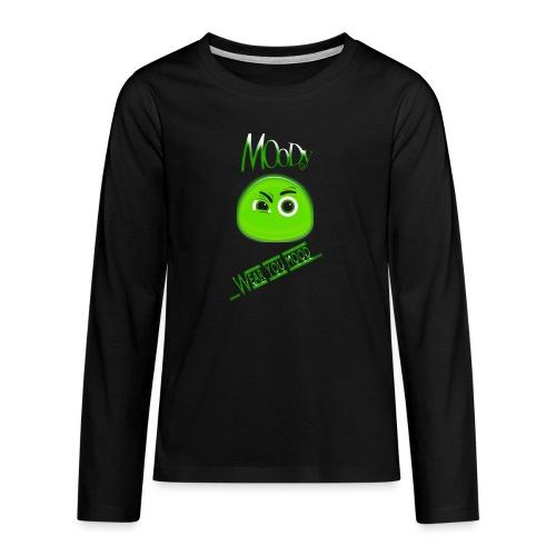 MOODY GOSTH - Maglietta Premium a manica lunga per teenager
