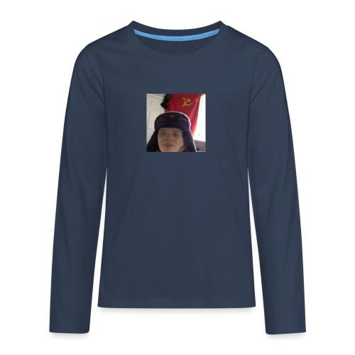 Kommunisti Saska - Teinien premium pitkähihainen t-paita