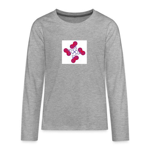 unkeon dunkeon - Teinien premium pitkähihainen t-paita