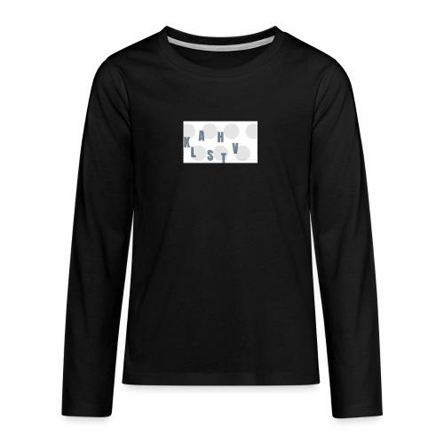 KLASHTV - Långärmad premium T-shirt tonåring