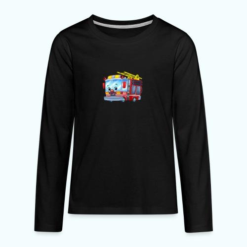 Firetruck Arthur Collection - Teenagers' Premium Longsleeve Shirt