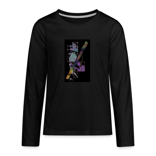 Circuito Trance music B jade - Teenagers' Premium Longsleeve Shirt