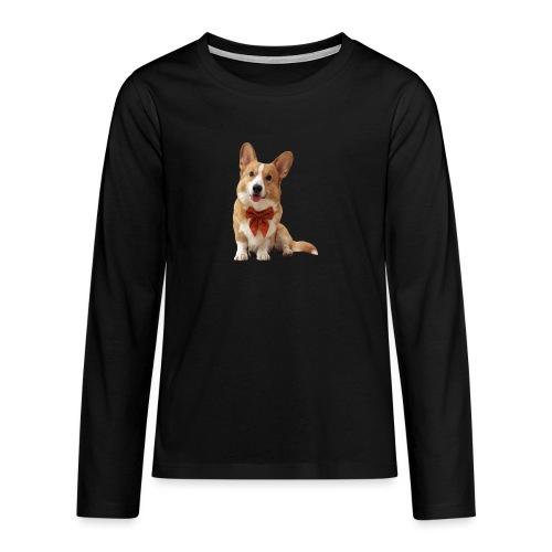 Bowtie Topi - Teenagers' Premium Longsleeve Shirt