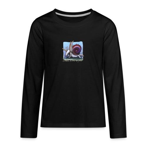 Unichiocciolo - Maglietta Premium a manica lunga per teenager