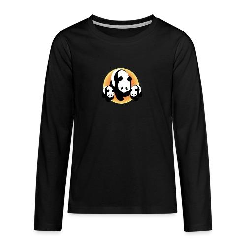 Chineese Panda's - Teenager Premium shirt met lange mouwen