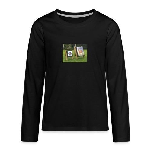 7EE4ABA5 03CC 4458 8D34 B019DF4DD5F1 - Premium langermet T-skjorte for tenåringer