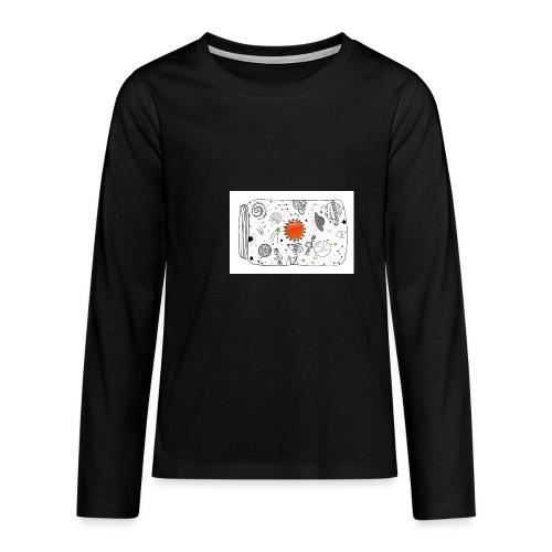 cosmos - Teenager Premium Langarmshirt
