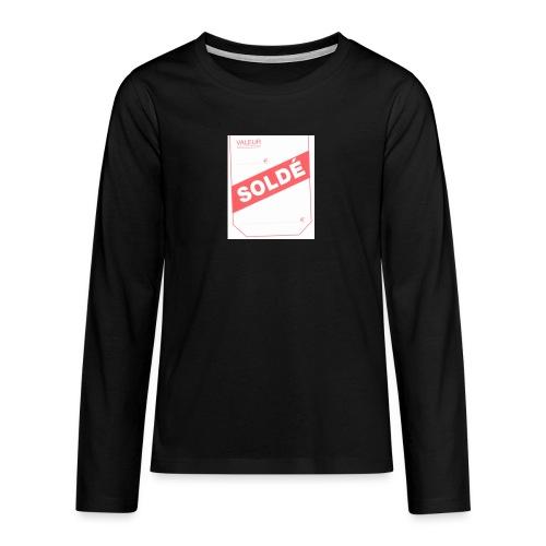 soldé - T-shirt manches longues Premium Ado