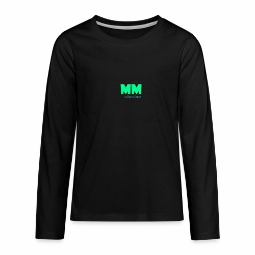 MattMonster Signature logo - Teenagers' Premium Longsleeve Shirt