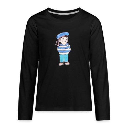 Matrosenjunge - Teenager Premium Langarmshirt