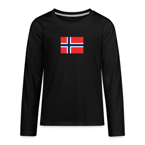 DixieMertch - Premium langermet T-skjorte for tenåringer