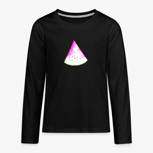 Pastèque - T-shirt manches longues Premium Ado