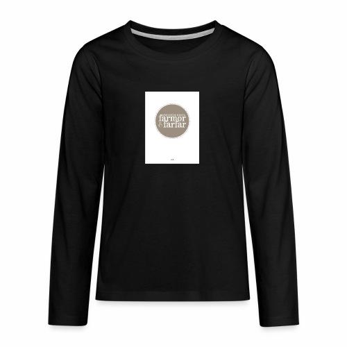 7597DD73 DF61 436F 9725 D1F86B5C2813 - Långärmad premium T-shirt tonåring