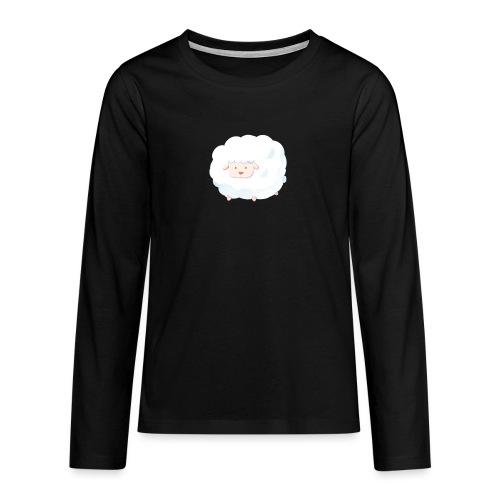 Sheep - Maglietta Premium a manica lunga per teenager