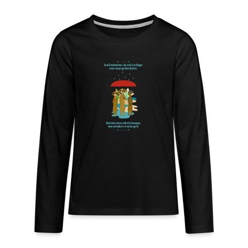 Erdmännchen - Teenager Premium Langarmshirt