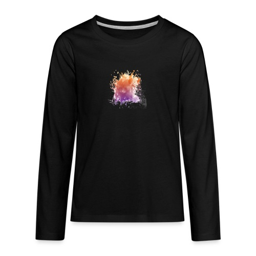 Chaton transparent - T-shirt manches longues Premium Ado