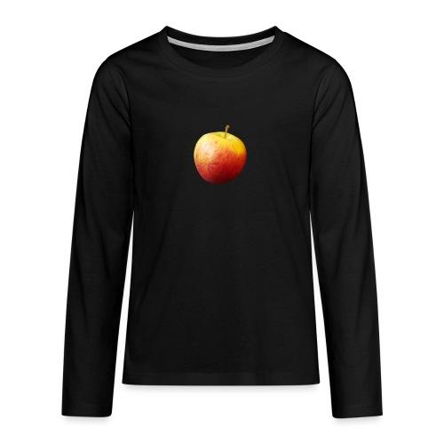 rood fruit met een naam - Teenager Premium shirt met lange mouwen