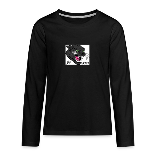 BR Riders - Teenager premium T-shirt med lange ærmer