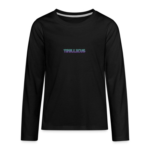cooltext280774947273285 - Teenagers' Premium Longsleeve Shirt