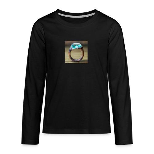 schöner Ring - Teenager Premium Langarmshirt