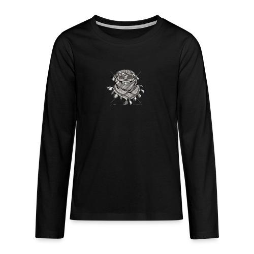 Krieger - Teenager Premium Langarmshirt