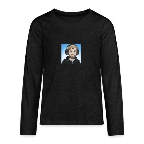 KalzAnimated - Teenager premium T-shirt med lange ærmer