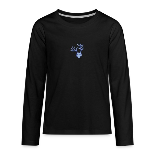 Jelen - Koszulka Premium z długim rękawem dla nastolatków
