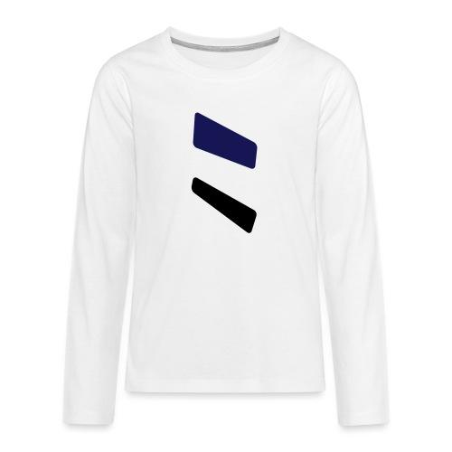 3 strikes triangle - Teenagers' Premium Longsleeve Shirt