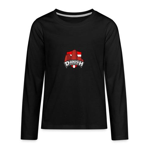 DanishRP Logo - Teenager premium T-shirt med lange ærmer