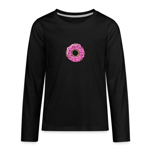 donut - Teenager Premium Langarmshirt