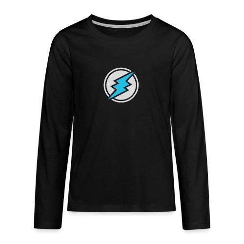 ETN logo # 2 - Teenagers' Premium Longsleeve Shirt