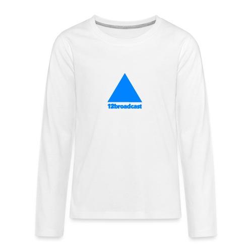 Prof Pic blu png - Teenagers' Premium Longsleeve Shirt