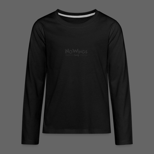NoWings_Fam - Teenager Premium Langarmshirt