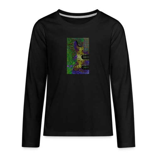 Music design gifts - Teenagers' Premium Longsleeve Shirt