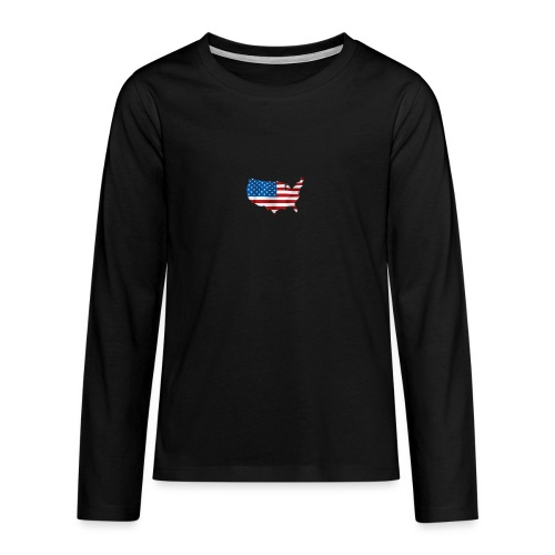 AMERICAN - T-shirt manches longues Premium Ado