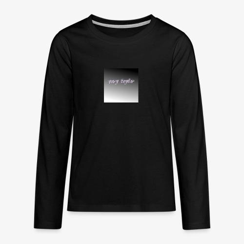 gary taylor OFFICIAL .e.g - Teenagers' Premium Longsleeve Shirt
