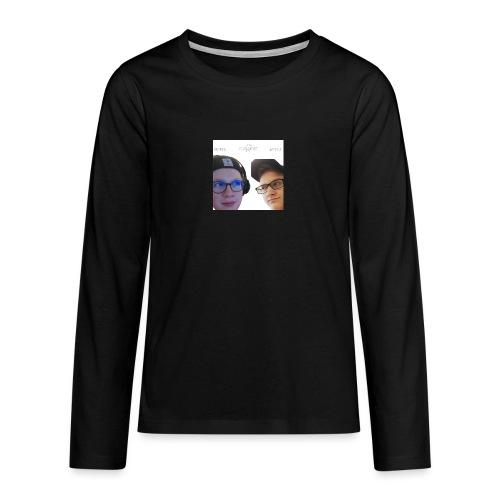 Ramppa & Jamppa - Teinien premium pitkähihainen t-paita