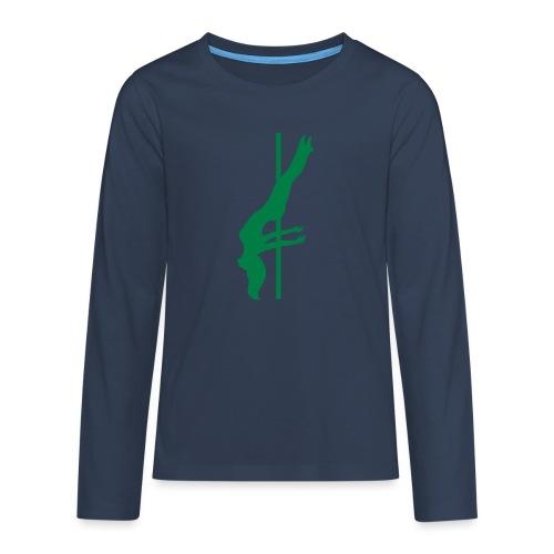 Pole Dance - Maglietta Premium a manica lunga per teenager