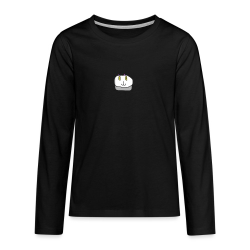 The Fierce Cat Logo - Teenagers' Premium Longsleeve Shirt