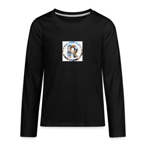 RazeDT design - Teinien premium pitkähihainen t-paita