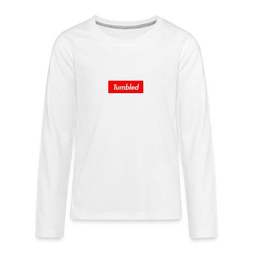 Tumbled Official - Teenagers' Premium Longsleeve Shirt