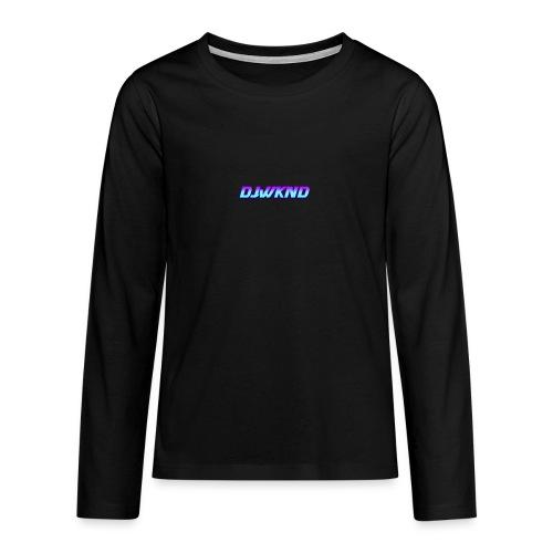djwknd - Teinien premium pitkähihainen t-paita