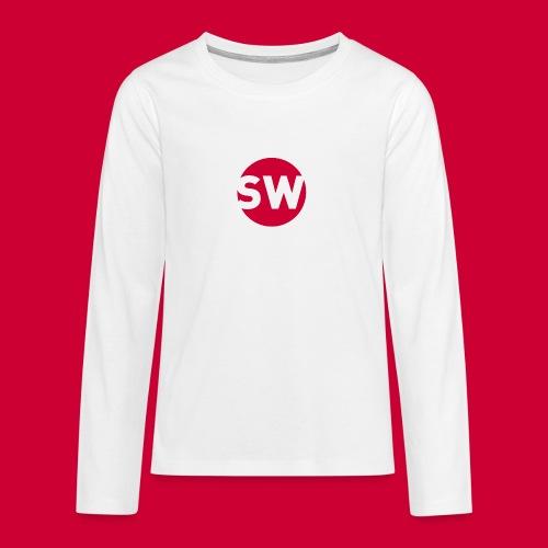 SchipholWatch - Teenager Premium shirt met lange mouwen