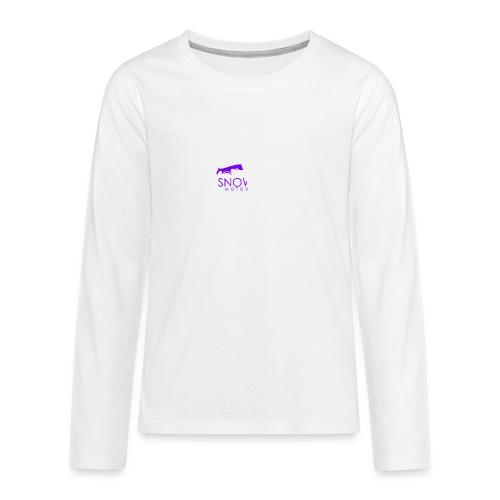 Snowball Motorsport - Teenagers' Premium Longsleeve Shirt