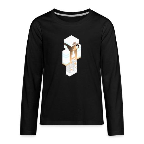 konijntjespower png - Teenager Premium shirt met lange mouwen