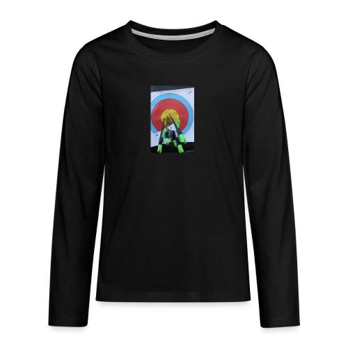 F1C5C2F0 28A3 455F 8EBD C3B4A6A01B45 - Premium langermet T-skjorte for tenåringer