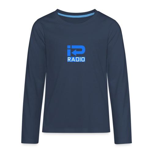 logo trans png - Teenager Premium shirt met lange mouwen